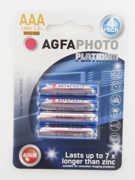 Batterie, LR3 AGFAPHOTO, Micro, AAA