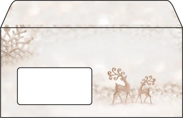 Weihnachts-Umschlag SIGEL, DIN lang, 90g